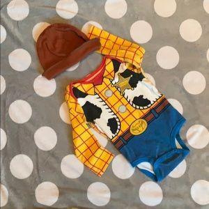 Woody onesie 12-18 mo